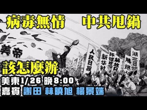 病毒无情 中共甩锅 如何应对 嘉宾:谢田 杨景瑞 林晓旭 主持:高洁【希望之声TV】(2021/01/26)