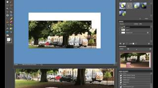 How to make a landscape joiner in photoshop.