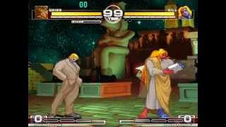 MUGEN : Battle Bros - Urien vs Gill