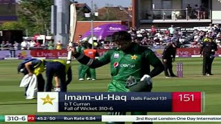 Pakistan vs England 3rd odi 2019 Pak 358/9 | Imam Ul Haq and Asif Ali great batting