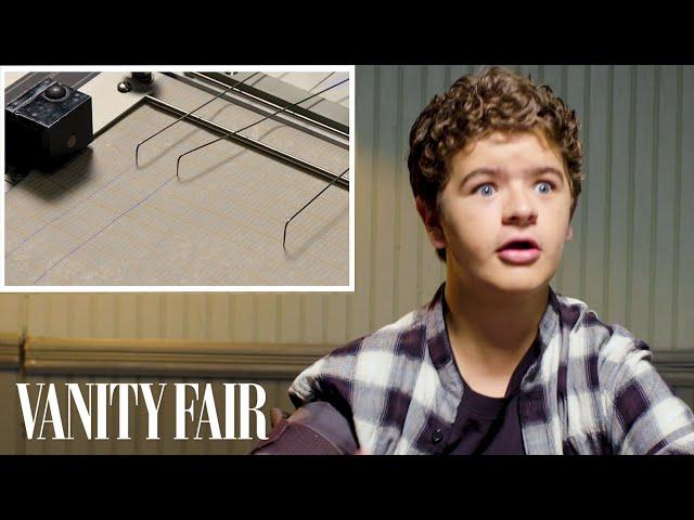 Stranger Things Gaten Matarazzo Takes a Lie Detector Test | Vanity Fair