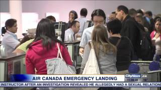Air Canada flight makes emergency landing in Bahamas