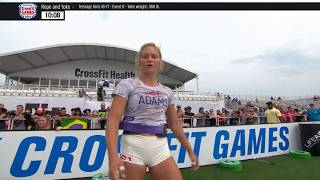 2018 CrossFit Games | Age Group Yoke and Rope (16-17 & 35-49)
