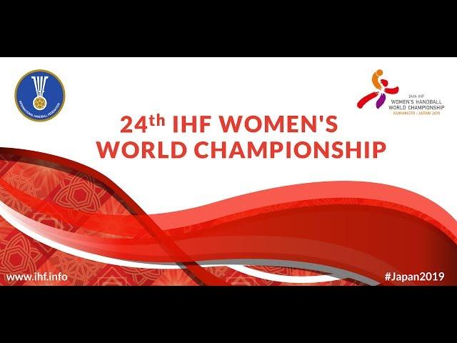 Main Round: Russia vs Montenegro | 24th IHF Women's World Championship