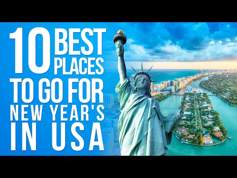 10 Best Places For New Year In USA