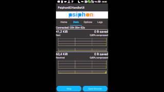 Internet gratis Vivo com Psiphon handler
