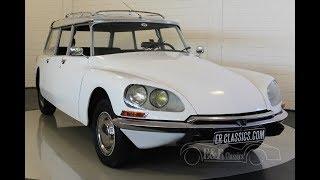Citroën DS20 Familiale 1972 -VIDEO- www.ERclassics.com