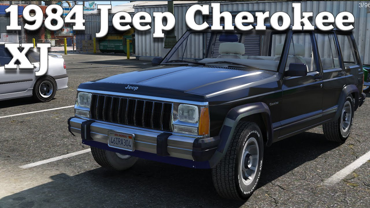 Gta V Pc Mods 1984 Jeep Cherokee Xj Download Youtube