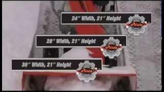 Снегоуборщики Ариенс серии Deluxe 2012-2013