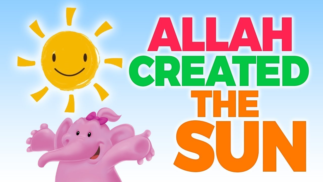 The SUN - A Great Blessing From Allah - Muslim Cartoon