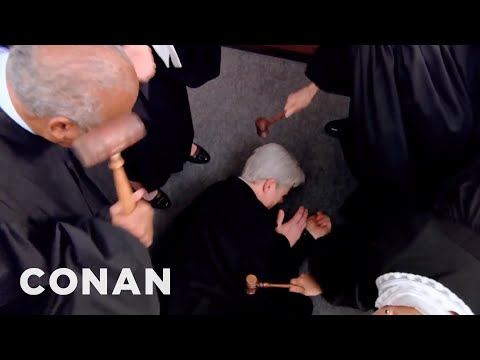 The Supreme Court Is Hazing Neil Gorsuch  - CONAN on TBS