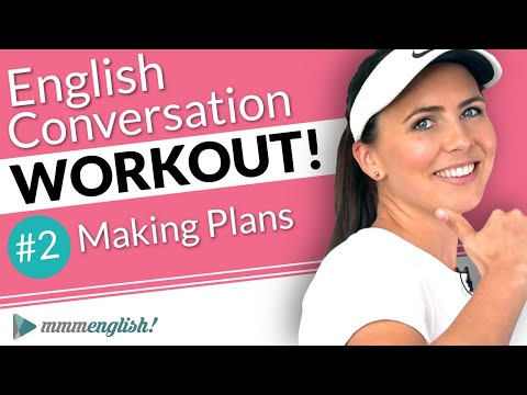 English Conversation Training ⚡️ Pronunciation Workout #2!
