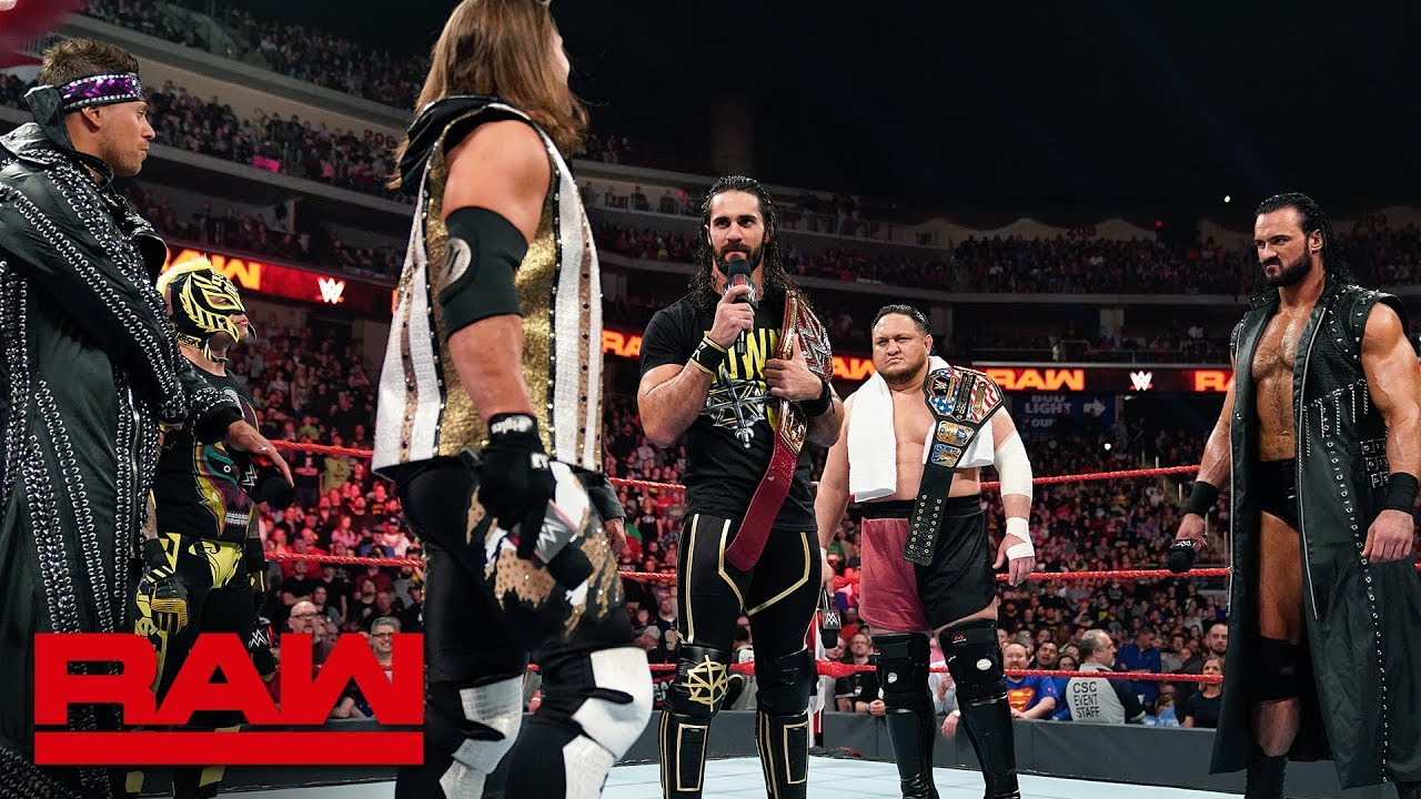 Six Superstars lay claim to Seth Rollins' Universal Championship: Raw, April 22, 2019