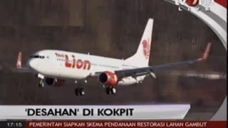 Skandal DESAHAN MESRA Copilot Di Dalam Pesawat Lion Air ~ Berita Terkini 20 November 2015