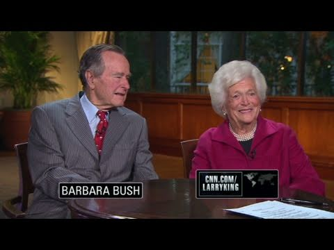 CNN Official Interview: Barbara Bush: I feel very well