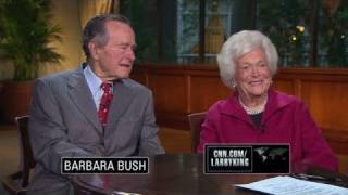 CNN Official Interview: Barbara Bush: I feel 'very well'