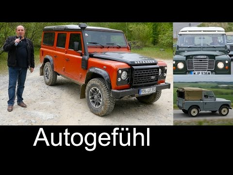 Last hurrah! Land Rover Defender FEATURE REVIEW test driven Heritage + Offroad