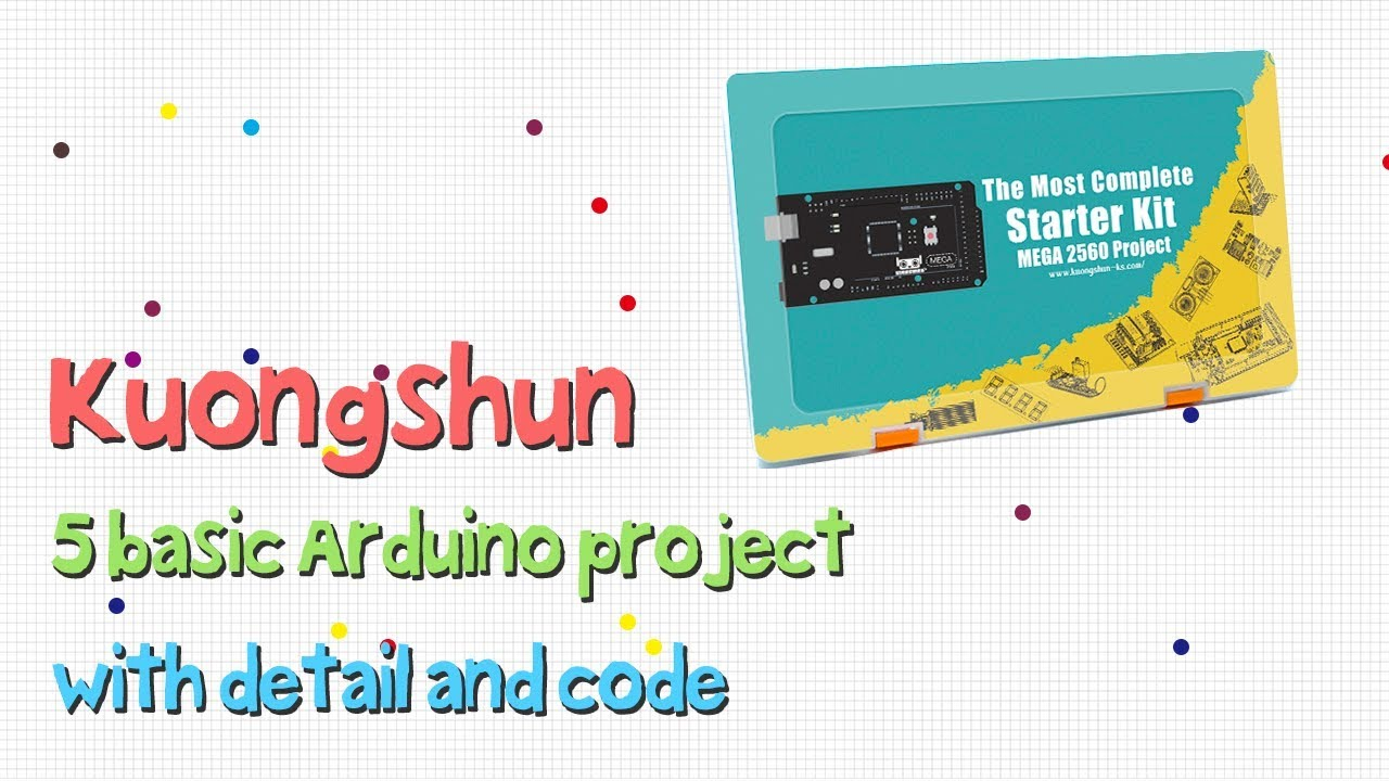 The Most Complete MEGA2560 Project Starter Kit – Kuongshun