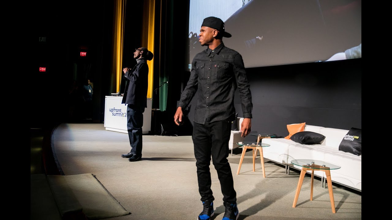 Image result for CHAMILLIONAIRE PRESENTS CONVOZ APP WITH HELP OF SNOOP DOGG AT 2018 UPFRONT SUMMIT