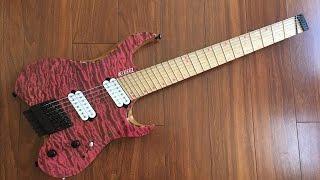 Baixar UNBIASED GEAR REVIEW - Kiesel VM7 Vader Multi-scale 7-string Fanned Fret Guitar