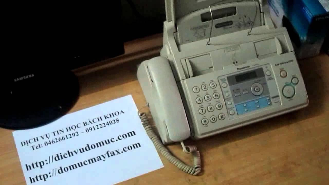 h ng d n thay film fax panasonic kx fp701 711 fa 57e youtube rh youtube com Panasonic Telephone Manuals Panasonic Kx User Manual 6841