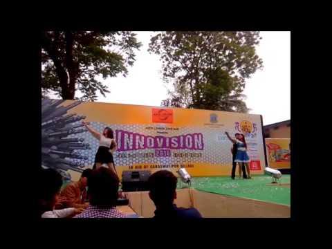 Falak tak chal saath mere Dance performance  salesian college siliguri   2014