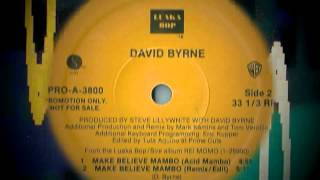 David Byrne -- Make Believe Mambo (Acid Mambo)