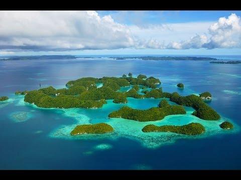 Rock Islands, Palau Micronesia ElicotteroVideo Arianna Cascinelli