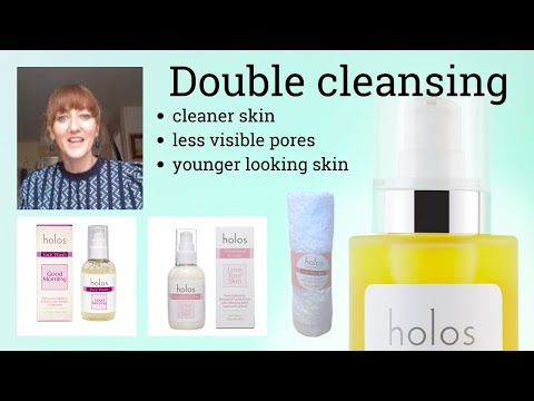 Double cleansing & why it is important in the care of your skin.