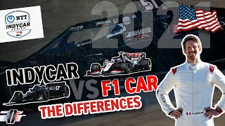 INDYCAR vs FORMULA 1, the differences