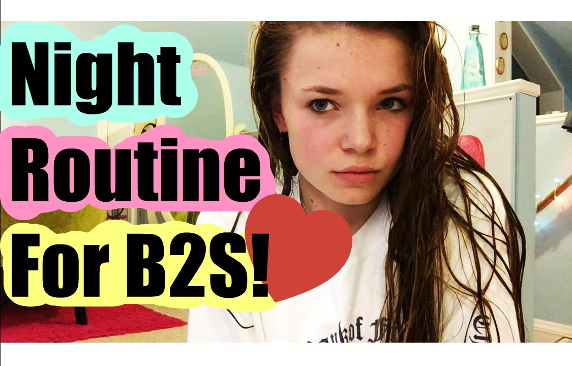 Night Routine For B2S! - YouTube