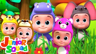 Five Little Babies | Nursery Rhymes For Kids & Children Song | Baby Songs
