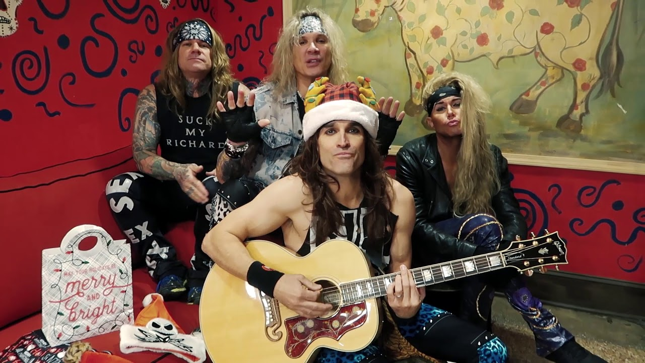 steel panther the stocking song special guitar christmas version youtube. Black Bedroom Furniture Sets. Home Design Ideas