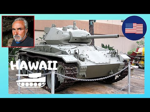 HONOLULU: Exhibits Of WW2 U.S. Army Museum In Hawaii 😲, Let's Go!
