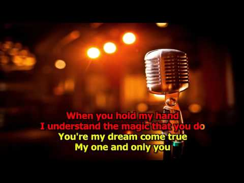 Only You - The Platters Karaoke (High Quality)(HD Karaoke)
