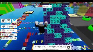 Roblox Mega Fun Obby 2 !!! 235 Stages ! COMPLETE RUN