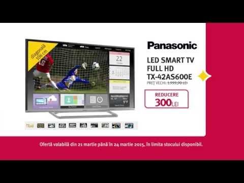Reclamă ALTEX TV Panasonic martie 2015