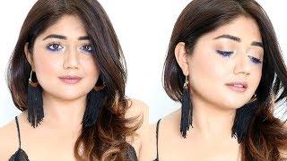 TUTORIAL : Pop of Blue   Summer Makeup   corallista