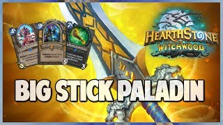 Big Stick Paladin | Surviving Standard 98 | Hearthstone | The Witchwood