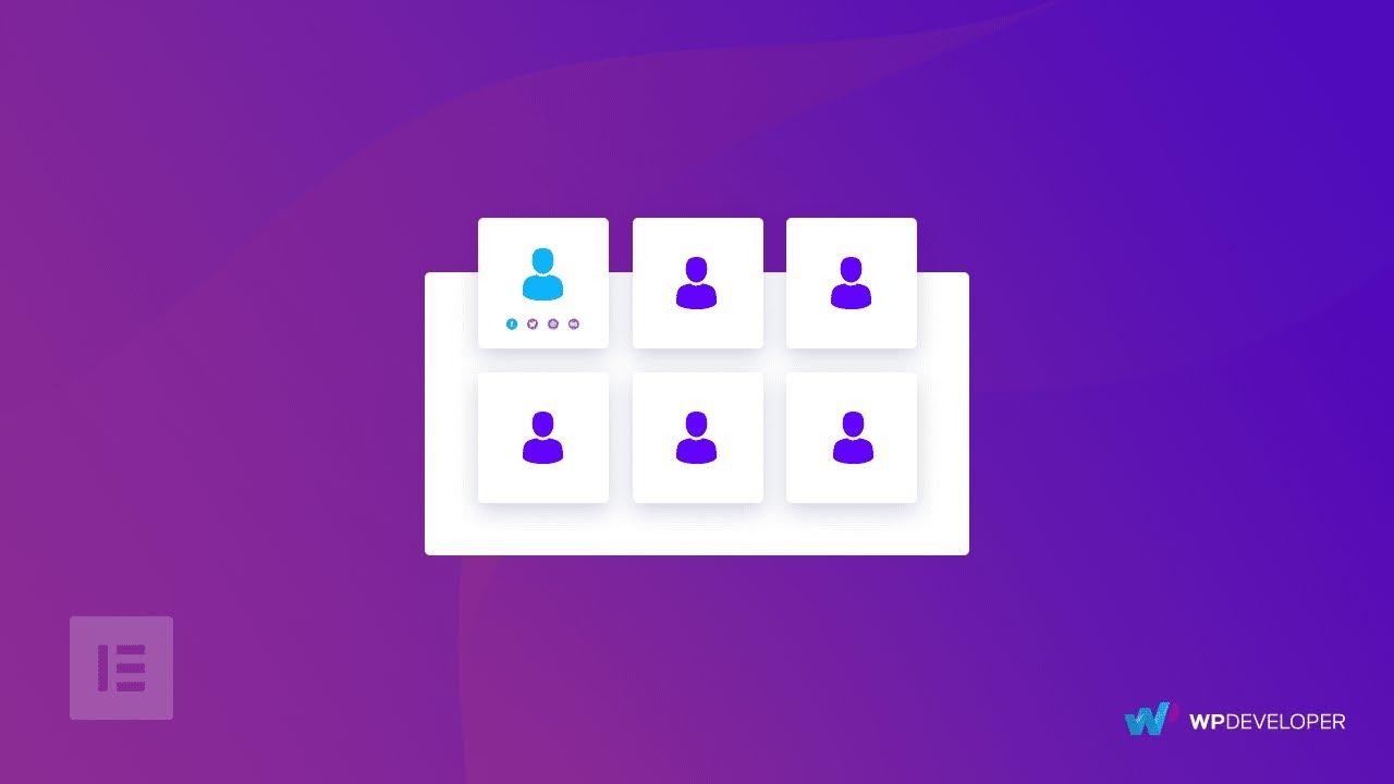 Team Member Element - Essential Addons for Elementor