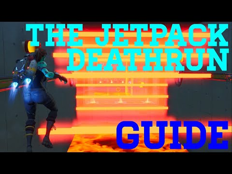 How To Complete The Jetpack Deathrun By DampFijiWater (All Levels) Fortnite Creative Guide