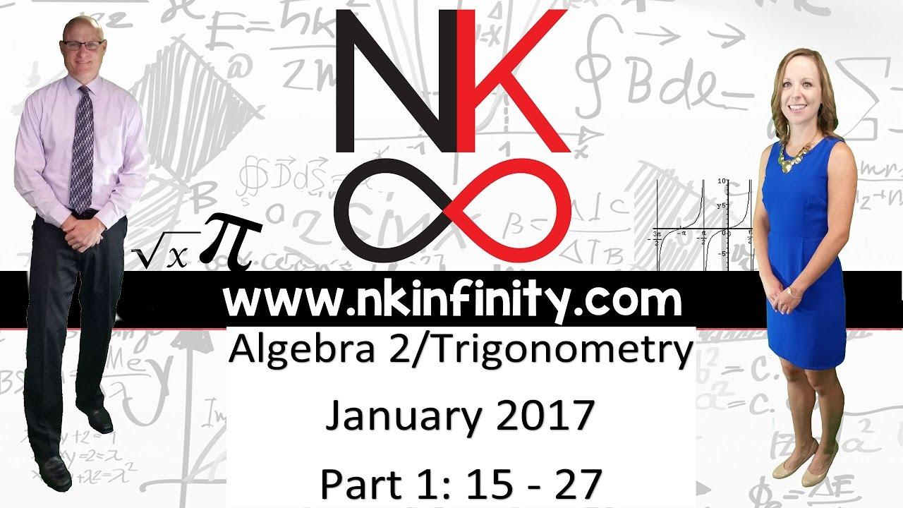 nys algebra 2 trigonometry regents january 2017 part 1. Black Bedroom Furniture Sets. Home Design Ideas