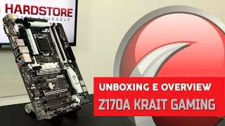 MSI - Z170A Krait Gaming - Unboxing/Overview