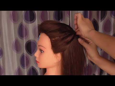 EASY AND SIMPLE  TWISTED WEDDIND HAIRSTYLE FOR RAKSHA BANDHAN \AWESOME GIRLS HAIRSTYLE FOR FESTIVAL thumbnail