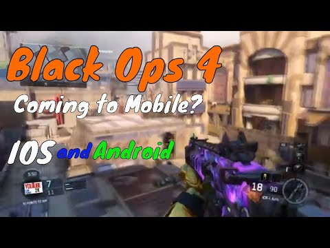 Black Ops 4 Coming to Mobile? IOS & Android ...