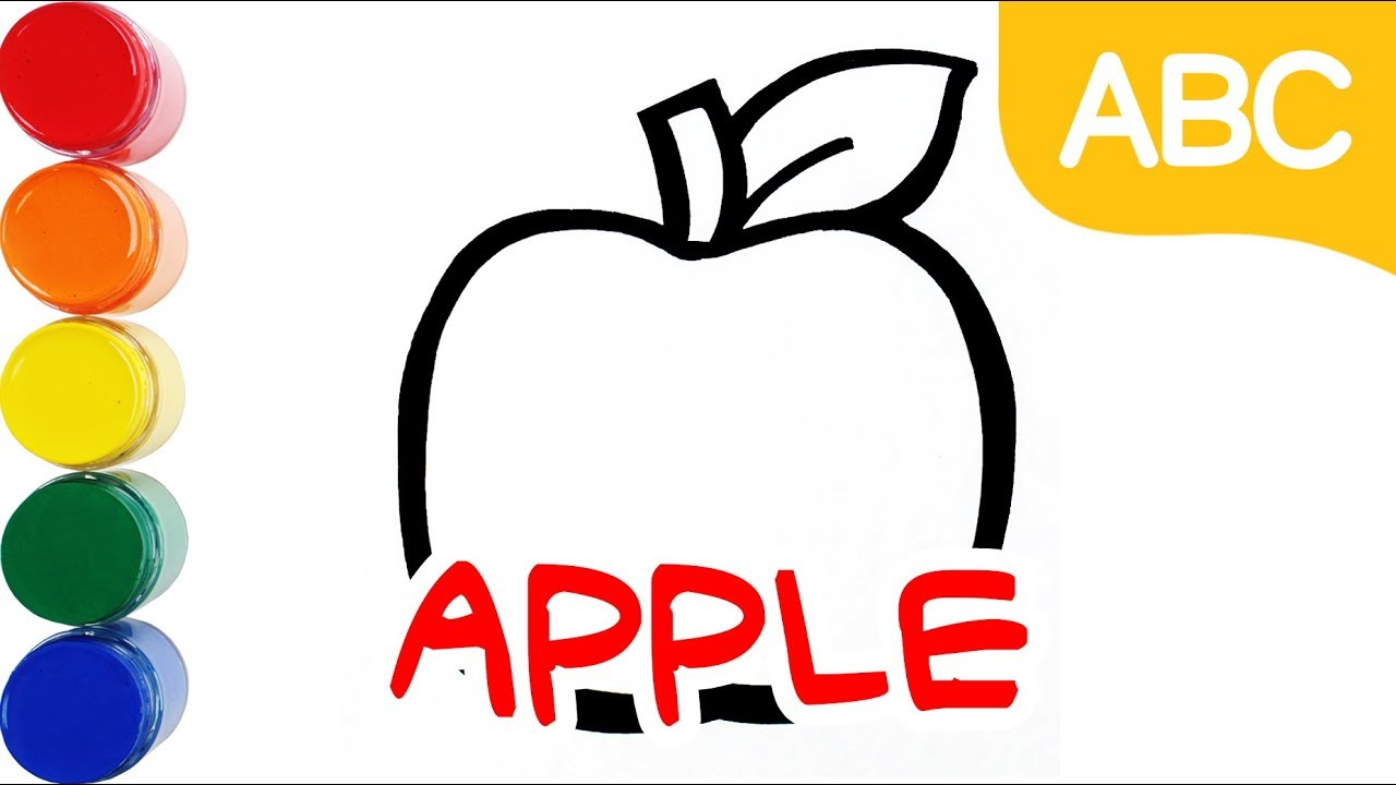 Fruit Coloring Learn Color Coloring Pages Learn English For Toddlers Mini Art Kids Youtube