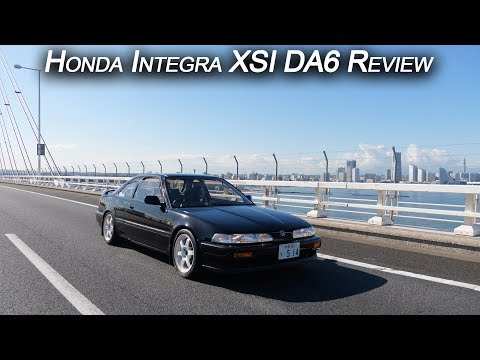 We drive the first DOHC VTEC Honda. Neo Classic Integra XSI DA6 Review | JDM Masters