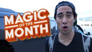 Meeting My Biggest Fan from Malaysia | MAGIC OF THE MONTH | Zach King (July 2019)