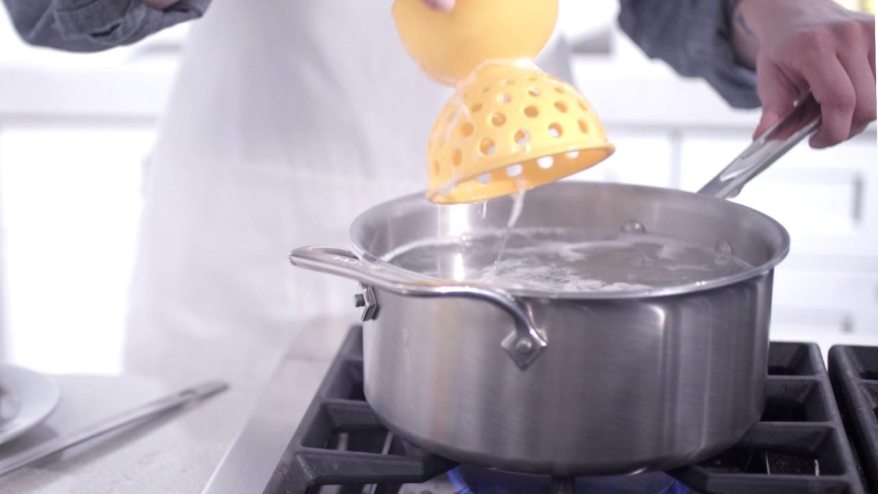 OXO Good Grips Silicone Egg Poacher YouTube