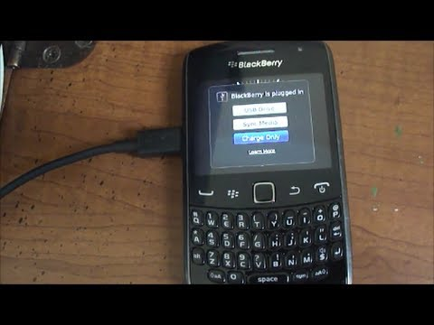 Tech Tip 44 Blackberry  How to transfer pictures from Blackberry to PC